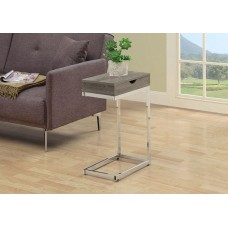 Diva  C Table With Drawer Dark Taupe