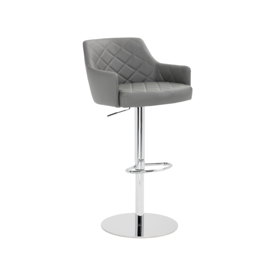 CHASE ADJUSTABLE BARSTOOL - GRAPHITE