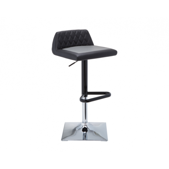 HOWIE ADJUSTABLE BARSTOOL Black / Grey