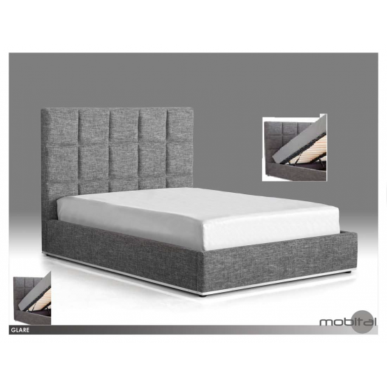 Glare Hydraulic Storage Bed From