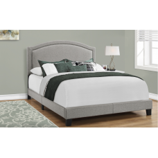 Granada Bed Frame 3 Sizes Grey Linen From