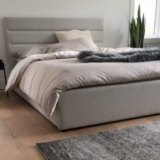 Justin Platform  Bed Woven Cream From