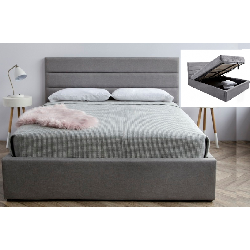 Justin Hydraulic Storage Bed From ...  sc 1 st  Urban Decor Furniture & Justin Hydraulic Storage Bed