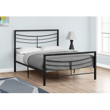 Sway  Black Metal Frame Bed 3 Sizes From