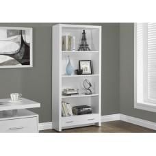 Rave Bookcase White