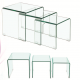Ghost Nesting Table 3 Pcs Set