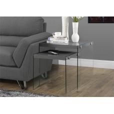 Nova Nesting Table Glossy Grey
