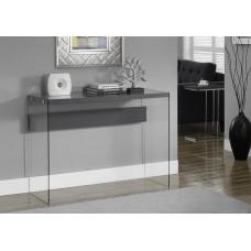 Nova Consol Table Glossy Grey