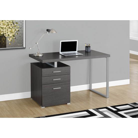 Java Reversible Desk Charcoal