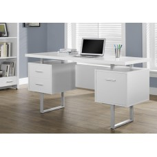 Wave Office Desk  White
