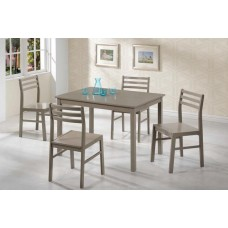 Lane Table & 4 Chairs Grey