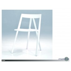Point Dining Chair Only white
