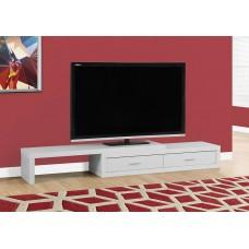 Lava Expandable TV Stand White