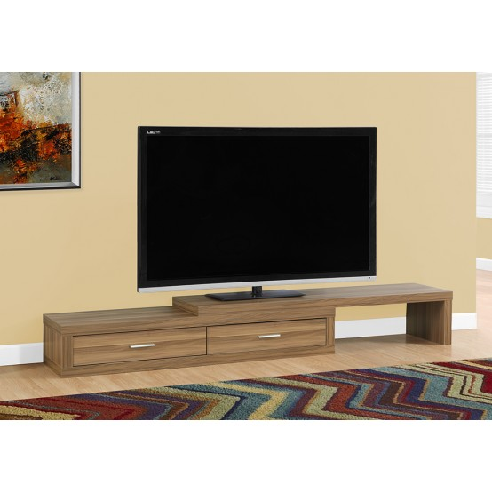 Lava Expandable TV Stand Walnut