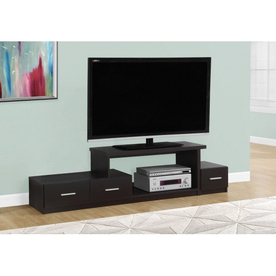 "Davos TV Stand- 72""L / With 3 Drawers 3 Colors"