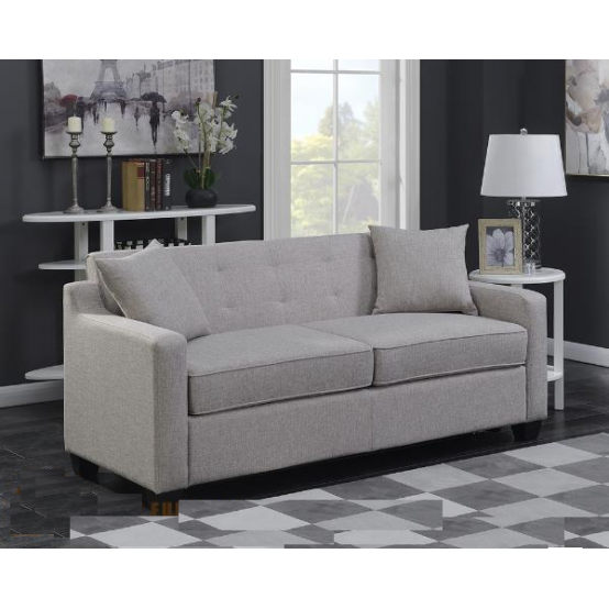 Uptown Sofa With Pullout Bed in Tan