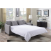 Uptown Sofa With Pullout Bed in Grey first 5 at