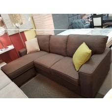 Alen Sofa with Reversible Lounge Tan