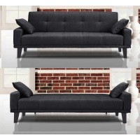 Alpha  Sofa Bed Dark Grey