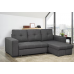 Comox Sofa Bed / Storage Grey Fabric