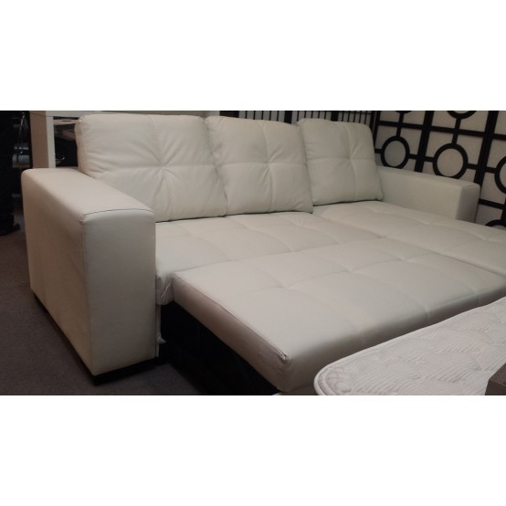 Comox Sofa Bed with Storage White