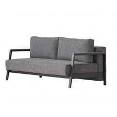 Davenport Sofabed-Charcoal Weave