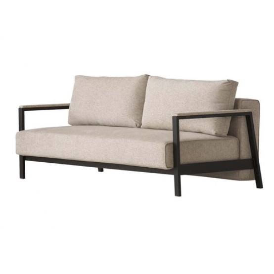 Davenport Sofabed-Beige Weave