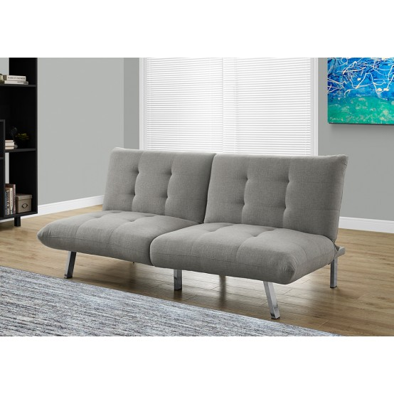 Nelson Sofa Bed Grey Linen