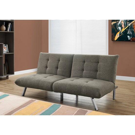 Nelson Sofa Bed Taupe Linen