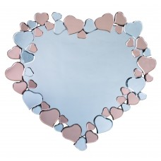 FLORAL HEART MIRROR