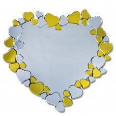 PEACH HEART MIRROR