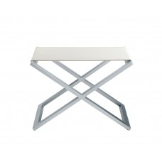 ACADIA CROCODILE BENCH WHITE