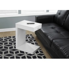 Block Accent Table with Drawer 3 Colors
