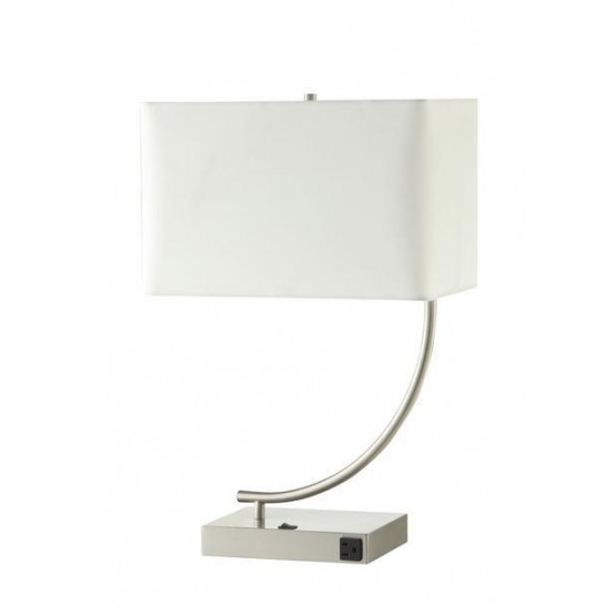 Delight Table Lamp White Shade
