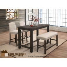 Bartell 4 pieces Counter Table Set
