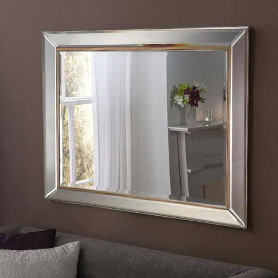 """Larnaca Wall Mirror 36""""x 24"""""""