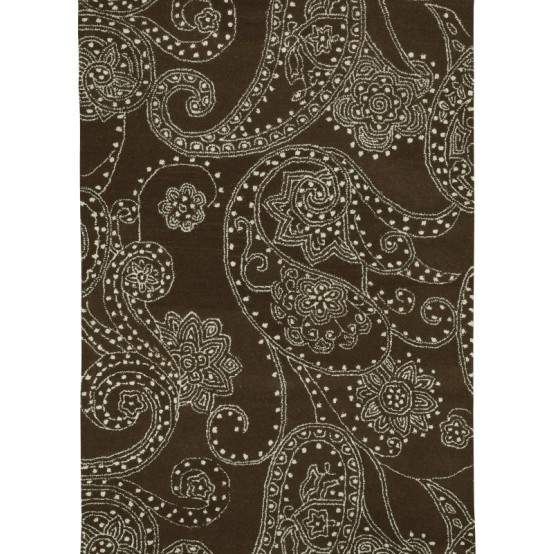 PAISLEY AREA RUG WOOL