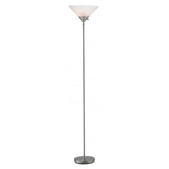 Pisces Floor Lamp Brush Steel