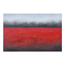 "RED HORIZON - 40"" X 60"""