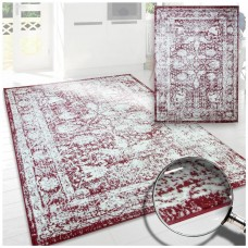 Brandon  Area Rug Red 5' x 8'