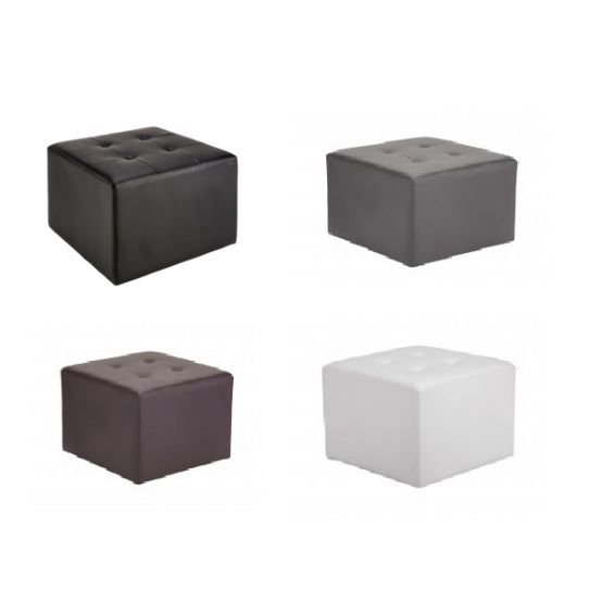 ZACHARY SWIVEL OTTOMAN 4 COLORS