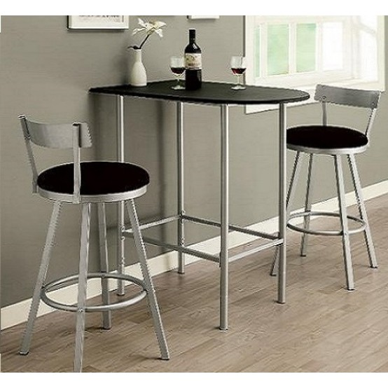 Brianna Bartable 2 Barstools Set