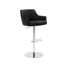 CHASE ADJUSTABLE BARSTOOL - ONYX