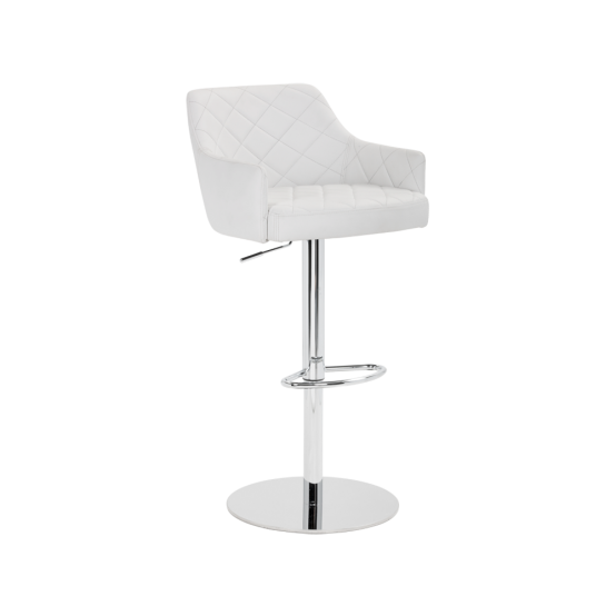 CHASE ADJUSTABLE BARSTOOL - SNOW