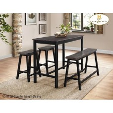 Homer 4 pieces Counter Table Set