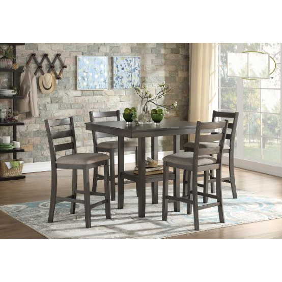 Edge 5 pieces Counter Table Set