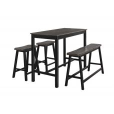 Homer 4 pieces Counter Table Set
