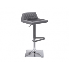 HOWIE ADJUSTABLE BARSTOOL Grey / Black