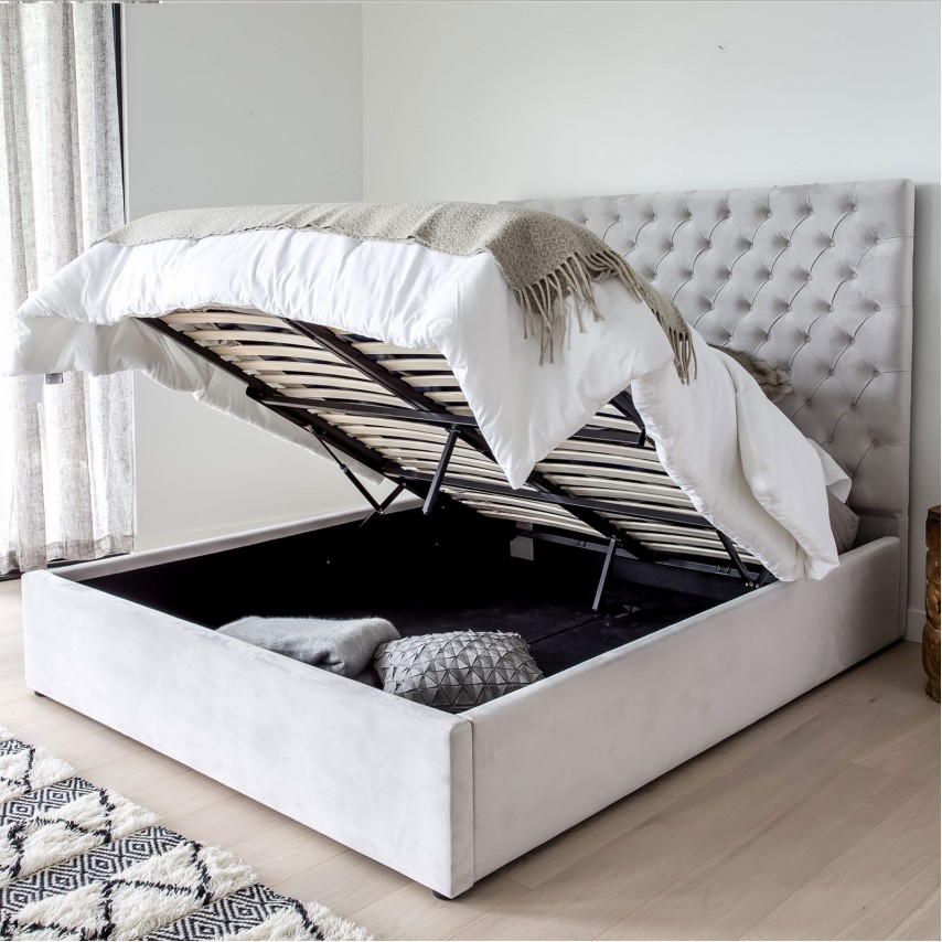 Joyee Storage Bed From, King Storage Bed Frame Canada