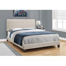 Lisbon Bed Frame 3 Sizes Tan Linen From